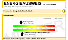 energieausweis muster